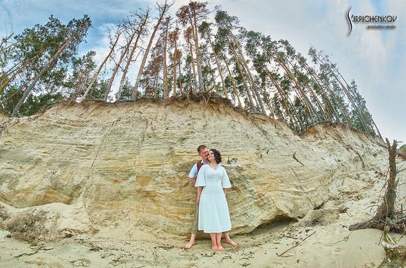 Свадебные фото в Сухолучье, Киевское море и сьемка в поле  - фото №12