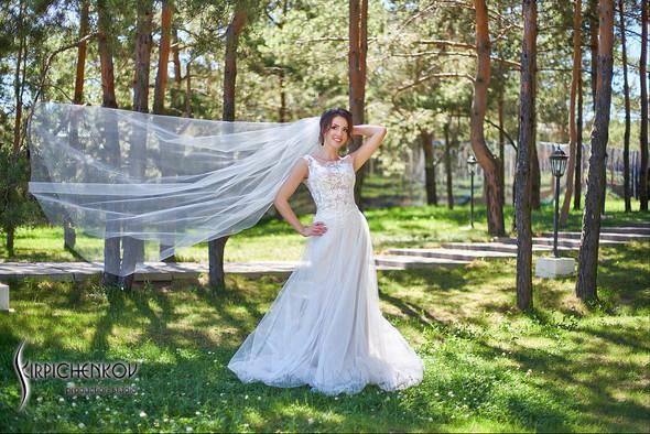 Свадебные фото на территории Соби Клаб, выездная церемония - фото №61