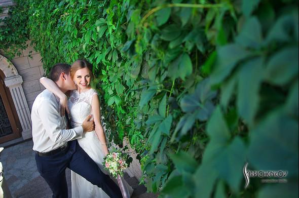 Свадебные фото в каньоне Буки и выездная церемония в ресторане Фортеця - фото №61