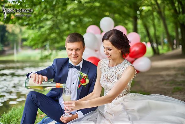 Свадьба на природе возле частного дома с выездной церемонией - фото №38