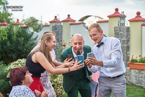 Свадьба на природе возле частного дома с выездной церемонией - фото №84