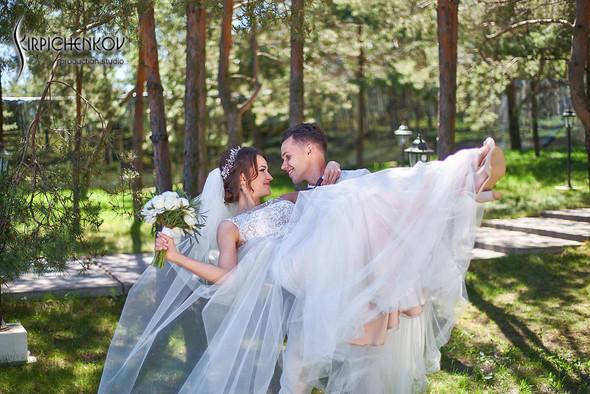 Свадебные фото на территории Соби Клаб, выездная церемония - фото №64