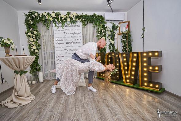 Свадебные фото в Оранжерее в Киеве, студийная сьемка в фотостудии Счастье - фото №30