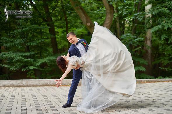 Свадьба на природе возле частного дома с выездной церемонией - фото №53