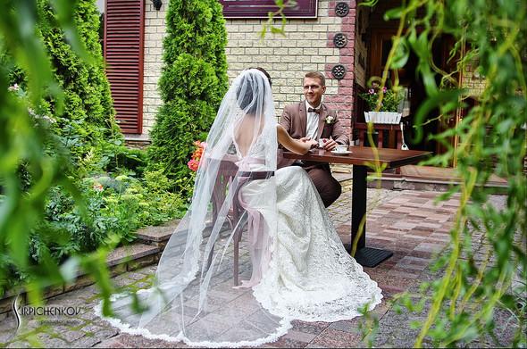Свадебные фото в яблочном саду, г. Чернигов - фото №36