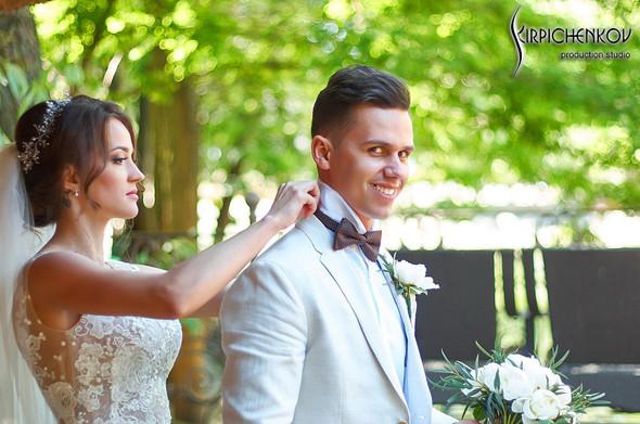 Свадебные фото на территории Соби Клаб, выездная церемония - фото №23