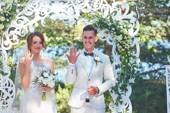 Свадебные фото на территории Соби Клаб, выездная церемония - фото №82