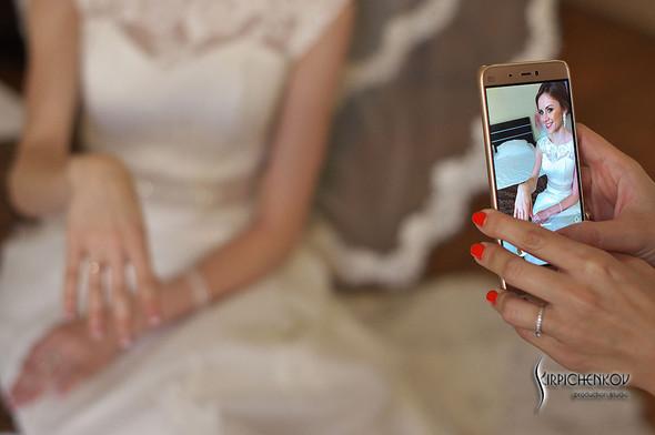 Свадебные фото в каньоне Буки и выездная церемония в ресторане Фортеця - фото №17