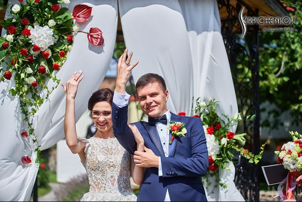 Свадьба на природе возле частного дома с выездной церемонией - фото №25
