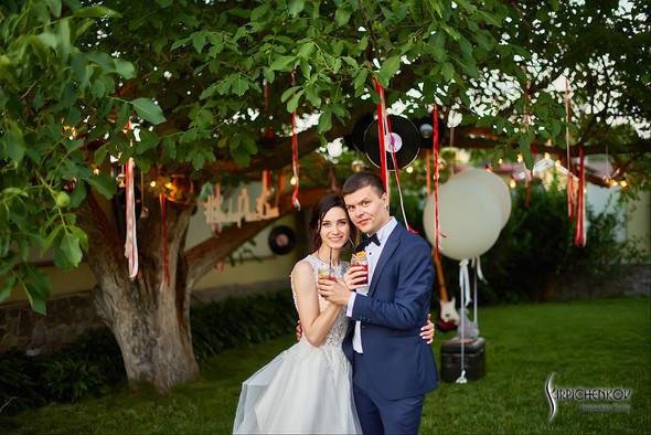 Свадьба на природе возле частного дома с выездной церемонией - фото №92