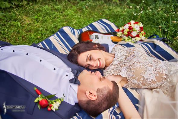 Свадьба на природе возле частного дома с выездной церемонией - фото №70