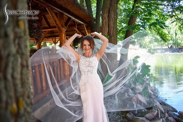 Свадебные фото на территории Соби Клаб, выездная церемония - фото №32