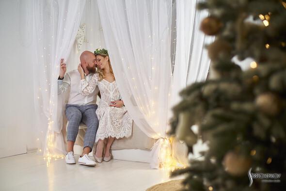 Свадебные фото в Оранжерее в Киеве, студийная сьемка в фотостудии Счастье - фото №36