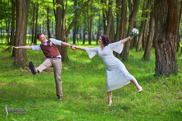 Свадебные фото в Сухолучье, Киевское море и сьемка в поле  - фото №27