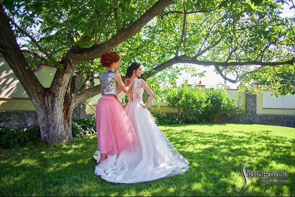 Свадьба на природе возле частного дома с выездной церемонией - фото №5