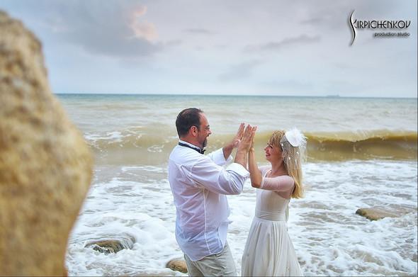 Свадебные фото на море в Одессе, фото в Оперном театре и на маковом поле - фото №64