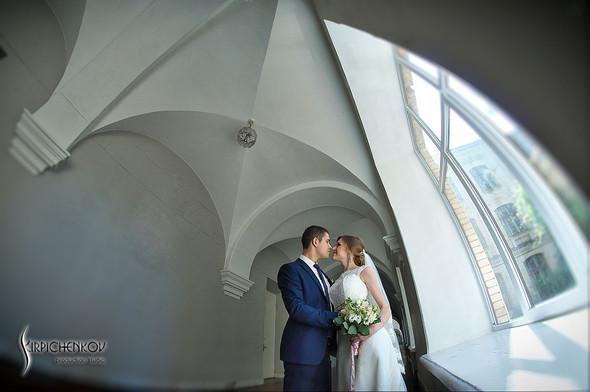 Свадебные фото в каньоне Буки и выездная церемония в ресторане Фортеця - фото №25
