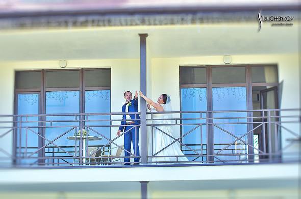 Свадебные фото на Мануфактуре и выездная церемония в ресторане Kidev - фото №25