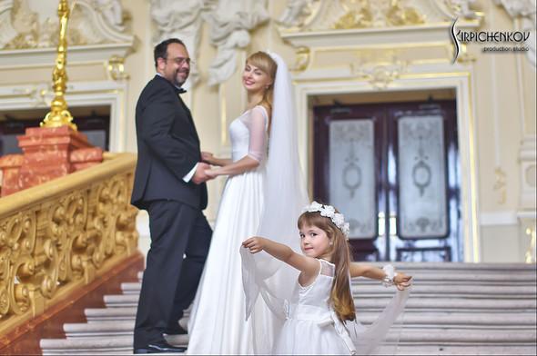 Свадебные фото на море в Одессе, фото в Оперном театре и на маковом поле - фото №83