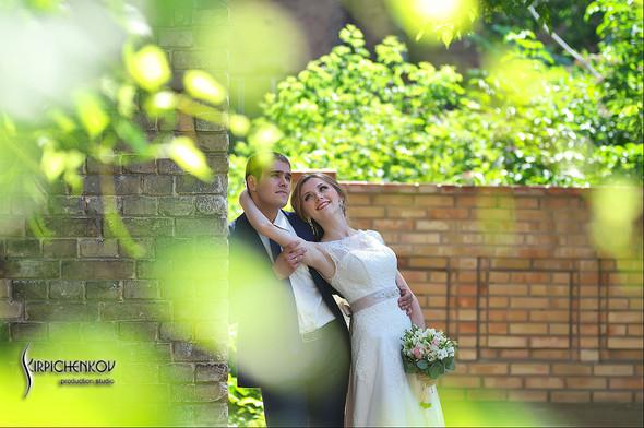 Свадебные фото в каньоне Буки и выездная церемония в ресторане Фортеця - фото №58