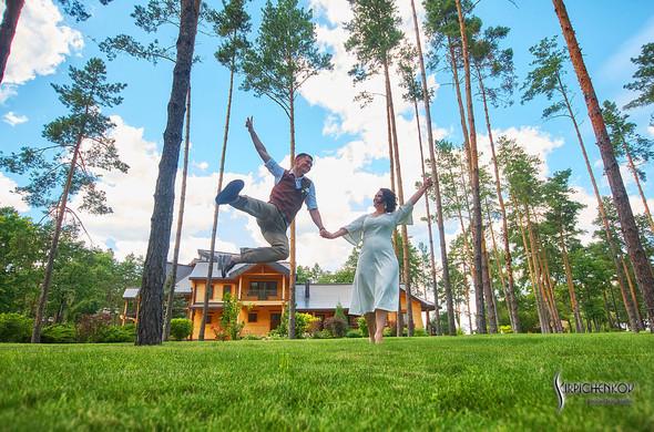 Свадебные фото в Сухолучье, Киевское море и сьемка в поле  - фото №38