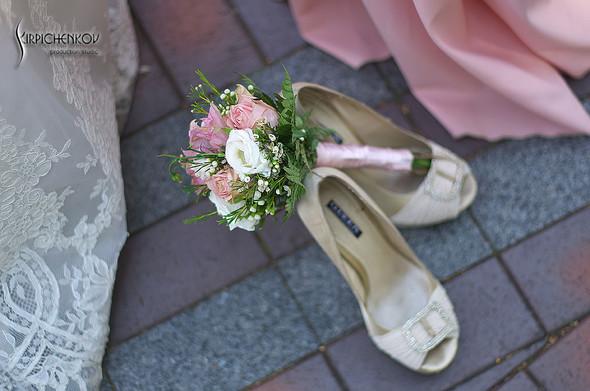 Свадебные фото в каньоне Буки и выездная церемония в ресторане Фортеця - фото №1