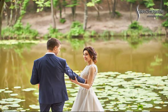 Свадьба на природе возле частного дома с выездной церемонией - фото №43