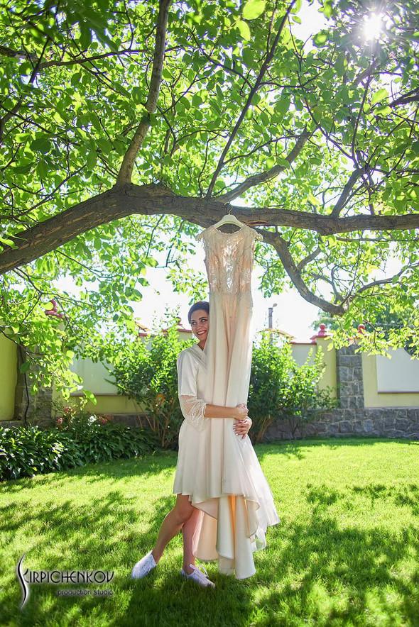 Свадьба на природе возле частного дома с выездной церемонией - фото №3