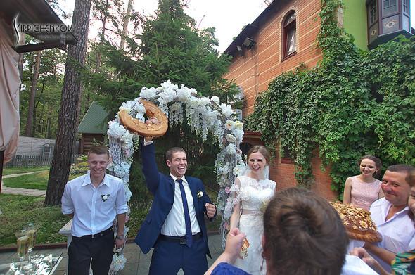 Свадебные фото в каньоне Буки и выездная церемония в ресторане Фортеця - фото №83