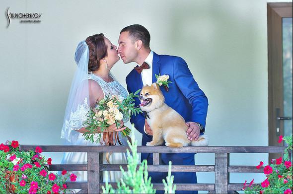 Свадебные фото на Мануфактуре и выездная церемония в ресторане Kidev - фото №29