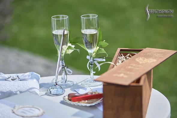 Свадьба на природе возле частного дома с выездной церемонией - фото №15