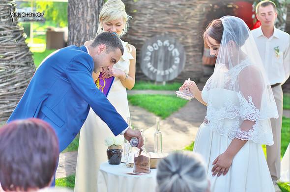 Свадебные фото на Мануфактуре и выездная церемония в ресторане Kidev - фото №78