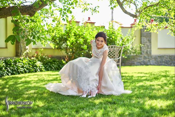 Свадьба на природе возле частного дома с выездной церемонией - фото №8