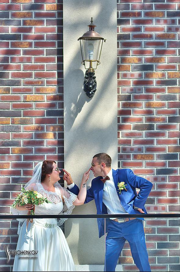 Свадебные фото на Мануфактуре и выездная церемония в ресторане Kidev - фото №52