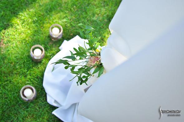Свадебные фото на Мануфактуре и выездная церемония в ресторане Kidev - фото №68