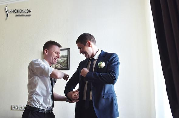 Свадебные фото в каньоне Буки и выездная церемония в ресторане Фортеця - фото №21