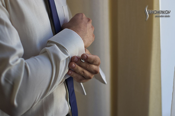 Свадебные фото в каньоне Буки и выездная церемония в ресторане Фортеця - фото №20