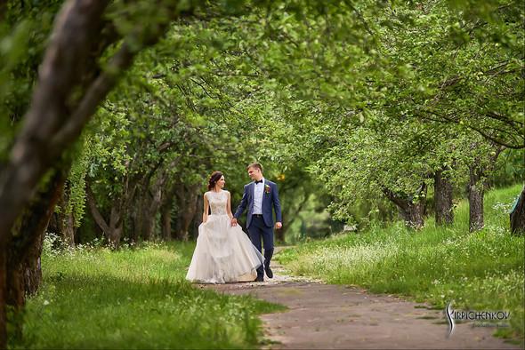Свадьба на природе возле частного дома с выездной церемонией - фото №67