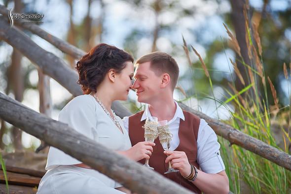 Свадебные фото в Сухолучье, Киевское море и сьемка в поле  - фото №6