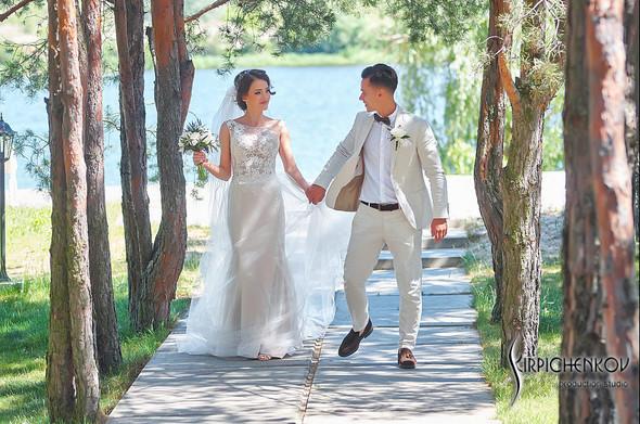 Свадебные фото на территории Соби Клаб, выездная церемония - фото №54