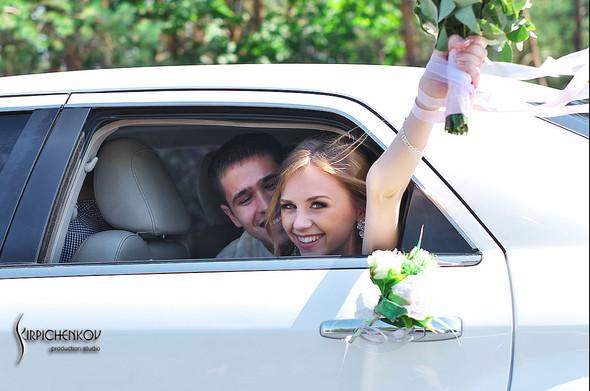 Свадебные фото в каньоне Буки и выездная церемония в ресторане Фортеця - фото №34