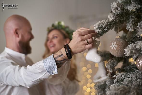 Свадебные фото в Оранжерее в Киеве, студийная сьемка в фотостудии Счастье - фото №35