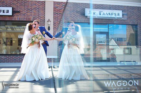 Свадебные фото на Мануфактуре и выездная церемония в ресторане Kidev - фото №54
