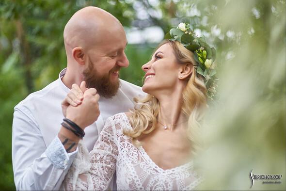 Свадебные фото в Оранжерее в Киеве, студийная сьемка в фотостудии Счастье - фото №2
