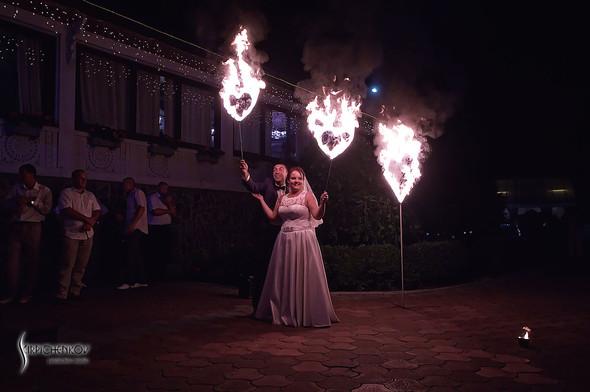 Свадебные фото на Мануфактуре и выездная церемония в ресторане Kidev - фото №90