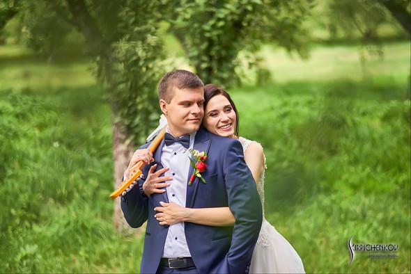 Свадьба на природе возле частного дома с выездной церемонией - фото №63