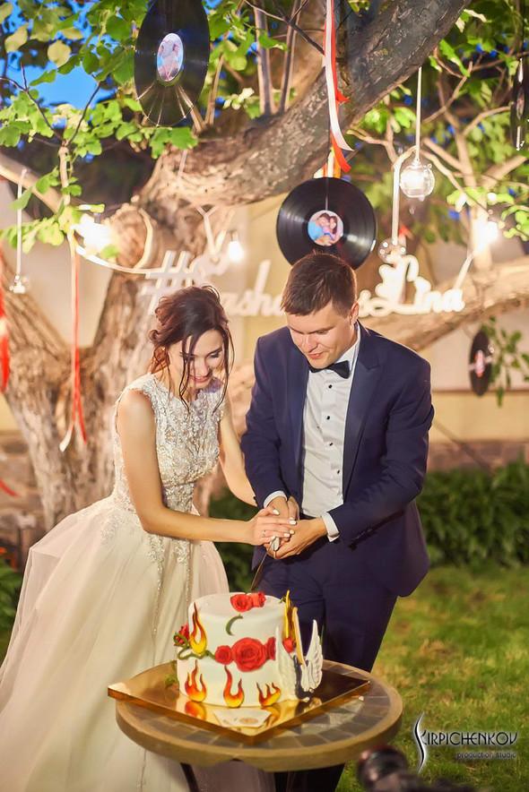 Свадьба на природе возле частного дома с выездной церемонией - фото №96