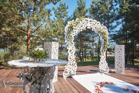 Свадебные фото на территории Соби Клаб, выездная церемония - фото №74