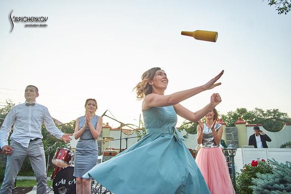 Свадьба на природе возле частного дома с выездной церемонией - фото №90