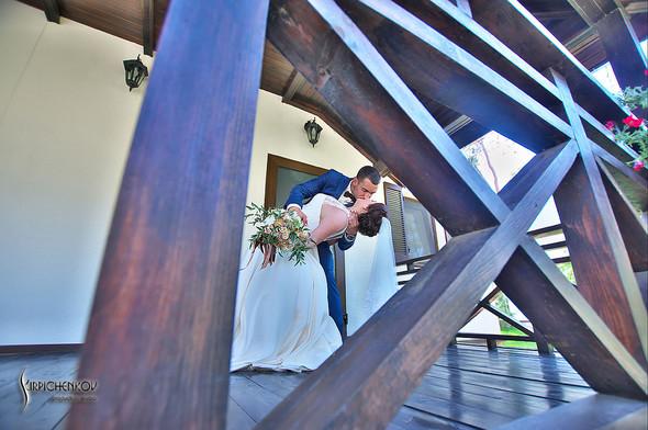Свадебные фото на Мануфактуре и выездная церемония в ресторане Kidev - фото №32
